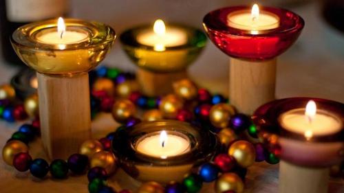 洋大厨教你备家宴(下)-【蜡烛鲜花灯光和酒水】