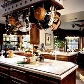 支架与厨房