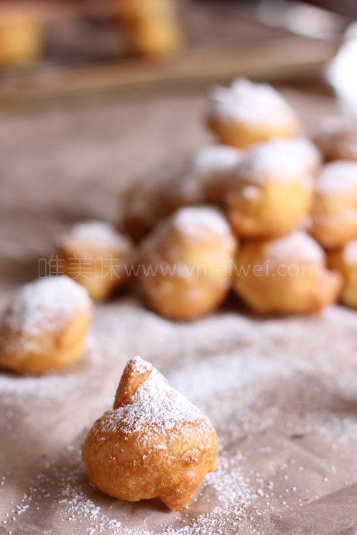 学做可爱的法式小甜点beignet唯美