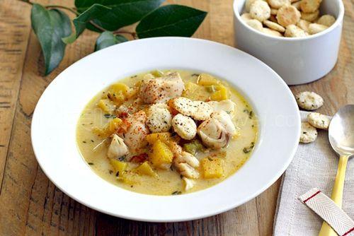 米其林大厨Raymond Blanc教你做轻口的海鲜巧达汤