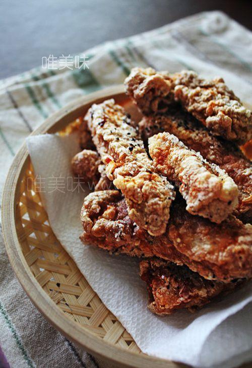 让人停不下嘴的老上海【椒盐排条】怎么做才好吃?