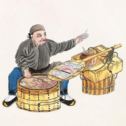 老北京有哪些特别的咸小吃?-【北平的独特食品】①