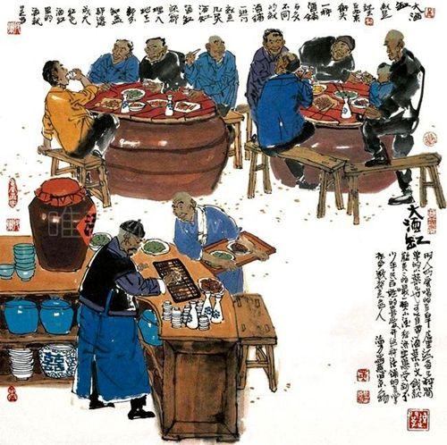 名人大亨普通平民都爱去的酒菜馆-【上海的柜台酒】①