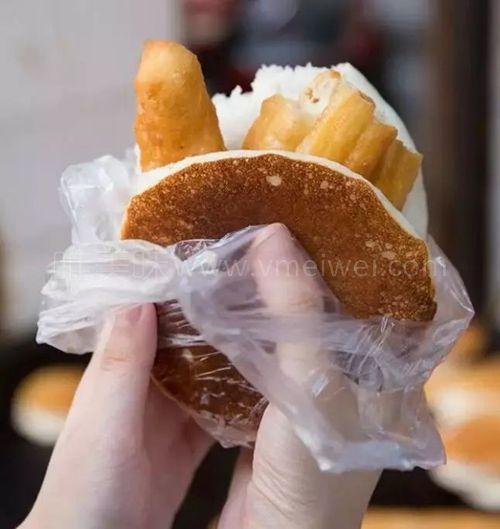 汪曾祺的家乡美食、酸中带甜的中式铜锣烧【糜饭饼】