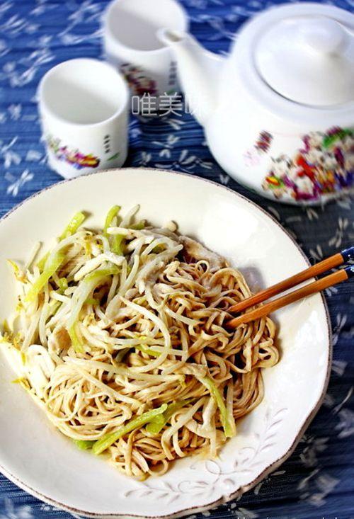 伏天经典【上海冷面】之三丝冷面怎么做米道才正宗